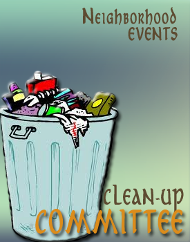 clean-up poster